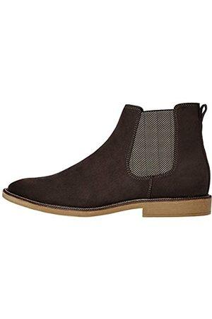 FIND Marsh Herren Chelsea Boots Stiefel, (Anthracite Suede Look)