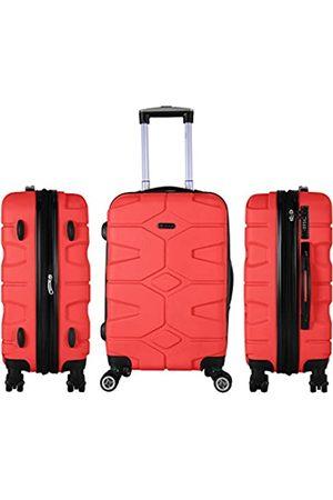 Shaik ® SERIE RAZZER SH002 DESIGN PMI Hartschalen Kofferset, Trolley, Koffer, Reisekoffer, 4 Doppelrollen, 25% mehr Volumen durch Dehnfalte (