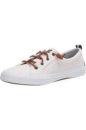 Sperry Womens Pier Wave LTT Casual Sneakers, Off White
