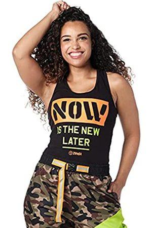 Zumba Fitness Damen Shirts - Zumba Womens Dance Fitness Schwarzes Tank Top Atmungsaktive Workout Racerback Sportkleidung Damen Tanktops