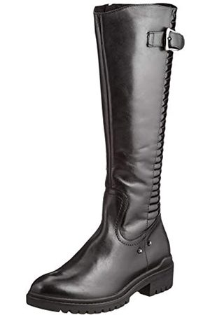Caprice Damen 9-9-25601-25 053 Kniehohe Stiefel XS Schaft, Black/PATENT