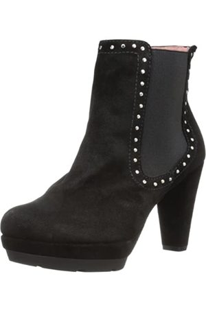 Andre Assous Andre Assous Women's Georgette Boot,Black Suede