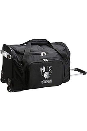 Denco NBA Brooklyn Nets Reisetasche mit Rollen, 55,9 x 30