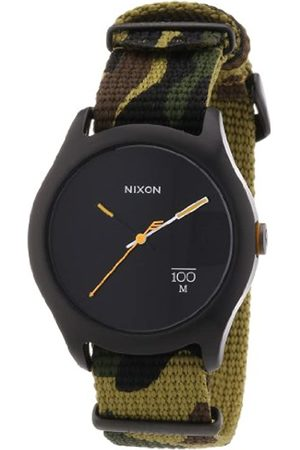 "Nixon Unisex-Armbanduhr A3441253-00, \""The Quad Woodland Camo\"""