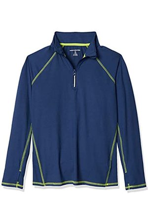 Amazon Jacke mit halblangem Reißverschluss, für Jungs, Dark Blue