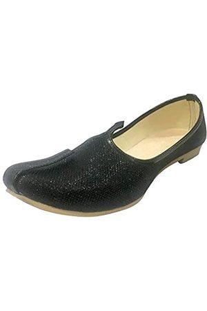 Step N Style Herren Glitzer Sherwani Schuhe Punjabi Jutiis Pakistani Khussa Herren Nagra Mojari