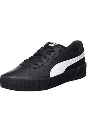 PUMA Damen Carina L Sneaker, Black White