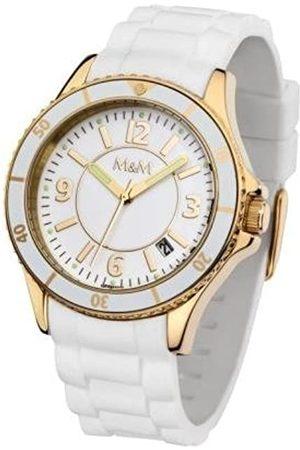 M&M Damen-Armbanduhr Lady Sports M11846-633