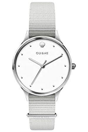 Oui&Me Damen Analog Quarz Uhr mit Nylon Armband ME010200