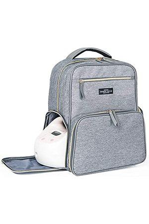 MOMIGO Reisetaschen - Brustpumpen-Rucksack Wickeltasche – Multifunktionaler Mommy Outdoor Arbeitsrucksack mit Isoliertasche