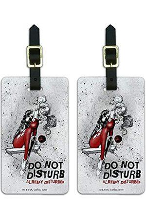Graphics and More Harley Quinn Already Disturbed Gepäckanhänger für Gepäckausweis