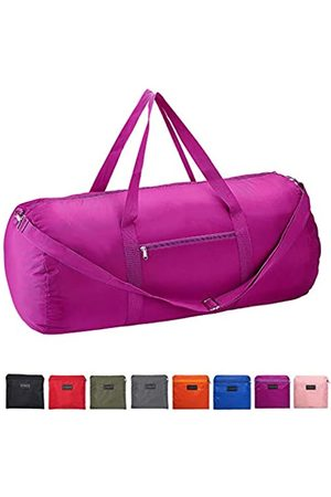 Vorspack Duffel Bag 28 Inches Foldable Lightweight Gym Bag with Inner Pocket for Travel Sports - Purple