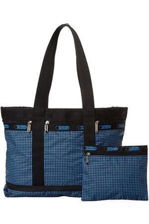 LeSportsac Mittelgroße Reisetasche., Blau (Highland Check)