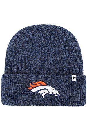 '47 Brand Brain Freeze Fashion Cuff Beanie Mütze – NFL Premium Cuffed Winter Knit Toque Cap, Herren