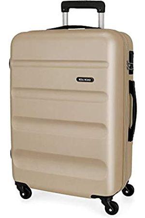 Roll Road Flex Mittlerer Koffer 46x64x23 cms Hartschalen ABS Kombinationsschloss 56L 3