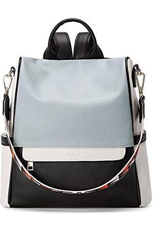 CLUCI Damen Rucksack Handtasche Mode Leder Groß Designer Reisetasche Damen Schultertaschen