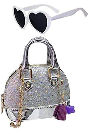N\A Kleine Mädchen trendige Kinder Glitzer Kleinkind Geldbörse Kleine Mädchen Pailletten Handtaschen Prinzessin Crossbody Tasche Mini Ranzen Geschenke
