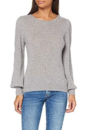 SPARKZ COPENHAGEN Damen Pure Cashmere Puff Sleeve Pullover
