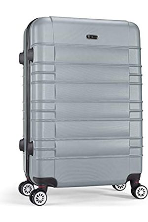 Shaik SerieCLASSIC JFK Design Hartschalen Trolley, Koffer, Reisekoffer 4 Doppelrollen Zwillingsrollen