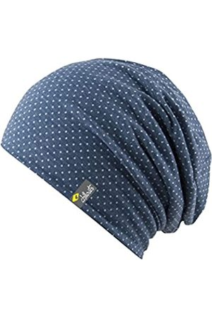 Chillouts Erwachsene Florence Hat Longbeanie, 43 Blue/White