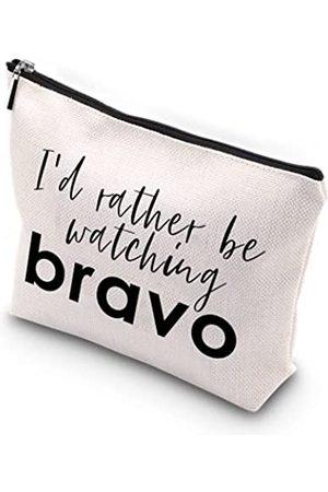 WCGXKO Damen Reisetaschen - Bravo Make-up-Tasche mit Reißverschluss, für Mutter, Schwester, beste Freundin, Ehefrau