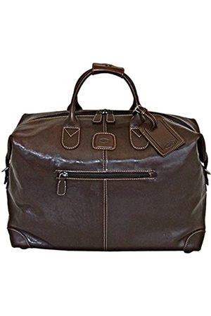 Bric's Luggage Life Pelle 22 Inch Cargo Duffle, Espresso Bean