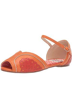 Bettie Page Damen BP100-FRUITIE Flache Sandale