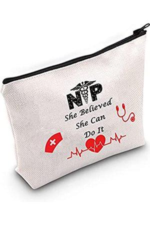 LEVLO Kosmetiktasche für Krankenschwestern, Schulabschluss, Geschenk für Schulabschluss, Krankenschwestern