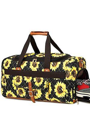LEDAOU Weekender Reisetasche für Damen, gesteppt