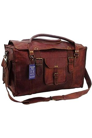 TOM&CLOVERS BAGS Tom & Clovers Bags Herren-Reisetasche, Retro-Stil, 53