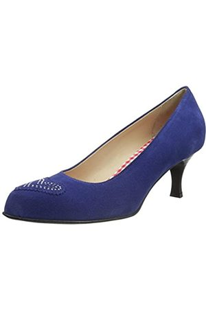 Diavolezza Damen Diana Pumps, (Blue)