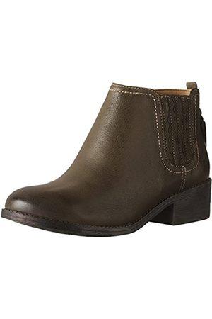 Sperry Damen Juniper Bree Boots Dark Olive 11