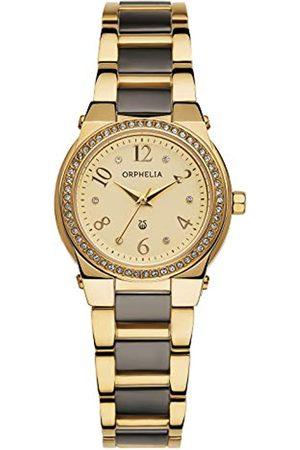 ORPHELIA Damen-Armbanduhr Bellevue Analog Quarz Keramik