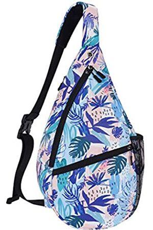 XEYOU Unisex Sling Bag Mehrzweck Crossbody Schultertasche Reise Brusttasche für Männer Frauen Leicht Casual Daypacks