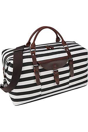 NEWHEY Übergroße Reisetasche, wasserdicht, Segeltuch, Wochenend-Handtasche