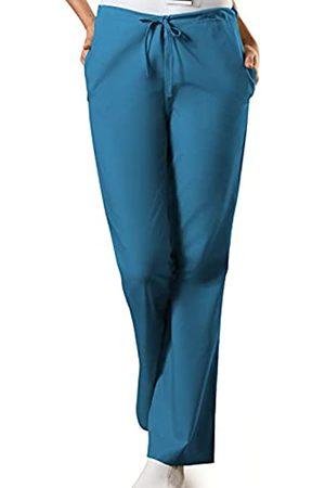 Cherokee Damen Scrub Hose mit Kordelzug - Blau - XX-Large