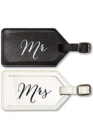 X&O Paper Goods True Love 2-teiliges Kofferanhänger-Set, Mr. & Mrs