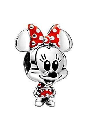 PANDORA Disney - Minnie Mouse Charm mit Polka Dot Kleid und Schleife