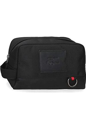 Pepe Jeans Counter Kulturbeutel Adaptable 25x15x12 cm Polyester und PU