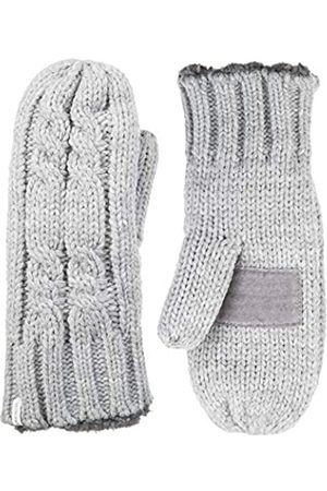 Isotoner Damen Chunky Cable Knit Cold Weather Mittens with Warm Soft Lining Handschuhe für kaltes Wetter