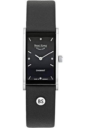 Bruno Soehnle Bruno Söhnle Damen Analog Quarz Uhr mit Leder Armband 17-73099-791