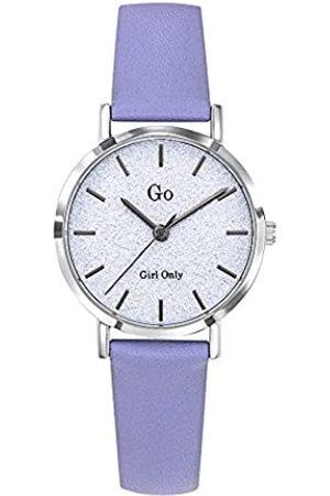 GO Girl Only Damen Analog Quarz Uhr mit Leder Armband 699897