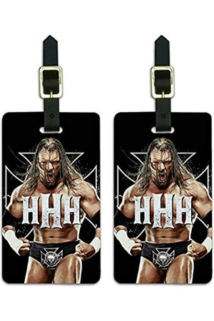 Graphics and More WWE Triple H The Game Gepäckanhänger Gepäckanhänger Koffer Handgepäck Karten – 2 Stück