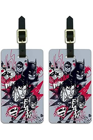Graphics and More Gepäckanhänger mit Aufschrift Justice League