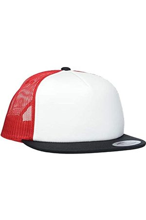 Flexfit Uni Foam Trucker with White Front Cap