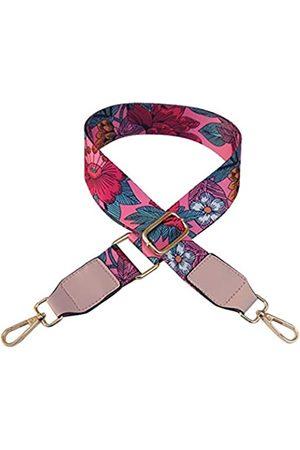 Beacone Ersatz-Gürtel für Geldbörse, verstellbar, für Crossbody oder Handtasche, (Rose große Blume )