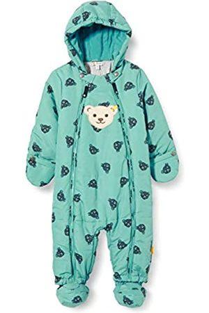 Steiff Baby-Unisex mit süßer Teddybärapplikation Schneeanzug