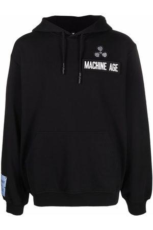 McQ Patch-detail cotton hoodie