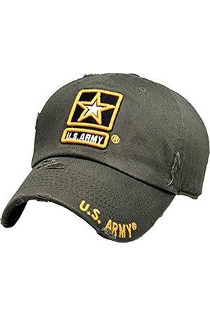 KBETHOS KBARMY-003 OLV US Army Offiziell lizenzierte Baseballmütze Military Vintage Adjustable Hat