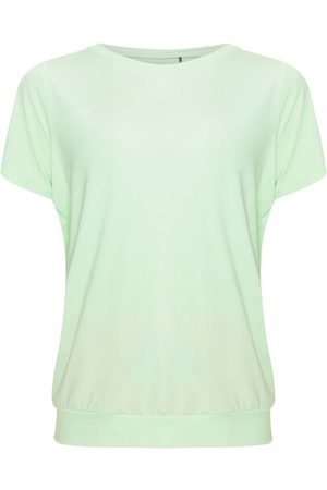 SCHNEIDER Damen T-Shirts, Polos & Longsleeves - T-Shirt, locker geschnitten, Rundhalsausschnitt, für Damen, hellmint, 40